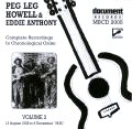 Peg Leg Howell & Eddie Anthony Vol 2 1928 - 1930