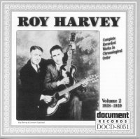 Roy Harvey Vol 2 1928 - 1929
